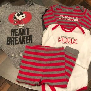 12 Month Boy Valentine Outfits